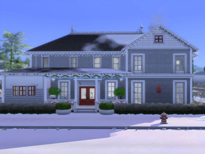 Sims 4 Winter Wonderland by LJaneP6 at TSR