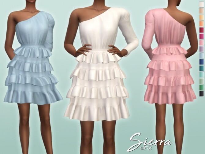 Sims 4 Sierra Dress by Sifix at TSR
