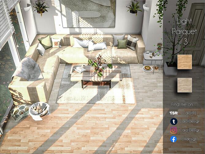 Sims 4 Light Parquet 3 by Caroll91 at TSR