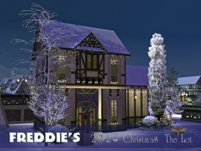 Sims 4 Freddies 2020 Christmas   The Lot by fredbrenny at TSR
