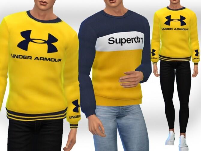 Sims 4 Style SweatShirts M by Saliwa at TSR
