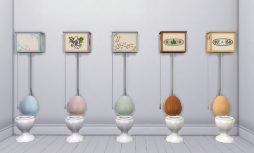 Sims 4 Country Bathroom TS2 to TS4 by Pocci at Garden Breeze Sims 4