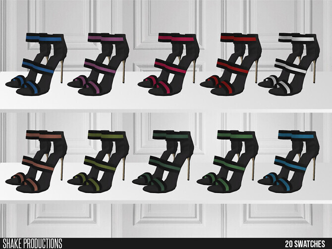 Sims 4 592 High Heels by ShakeProductions at TSR
