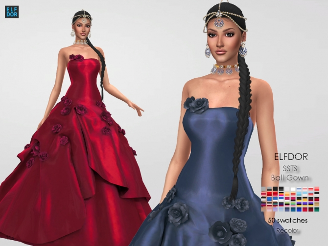 Sims 4 Gown Downloads Sims 4 Updates