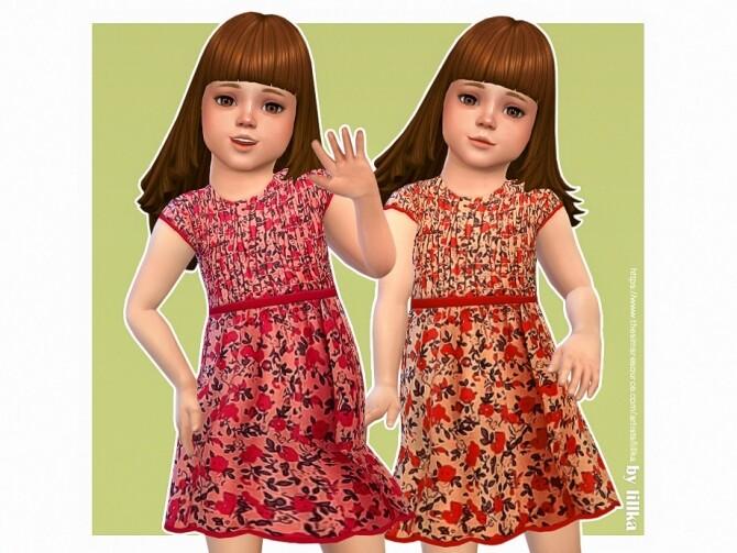 Sims 4 Lulu Dress by lillka at TSR