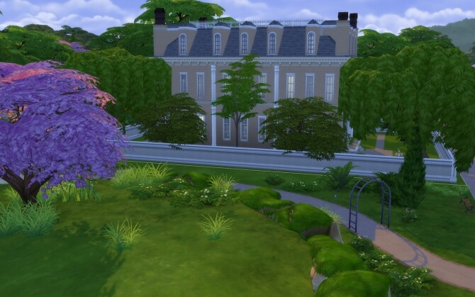 Sims 4 Generals Mansion by obstinacion at Mod The Sims