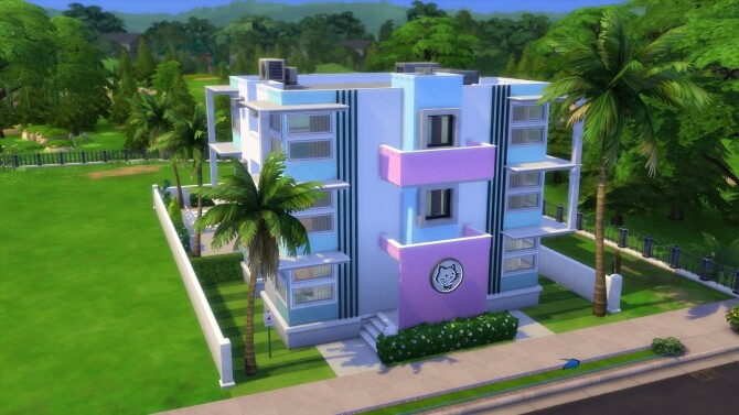 Sims 4 Newcrest Shore Apartments by SimRedas at Mod The Sims