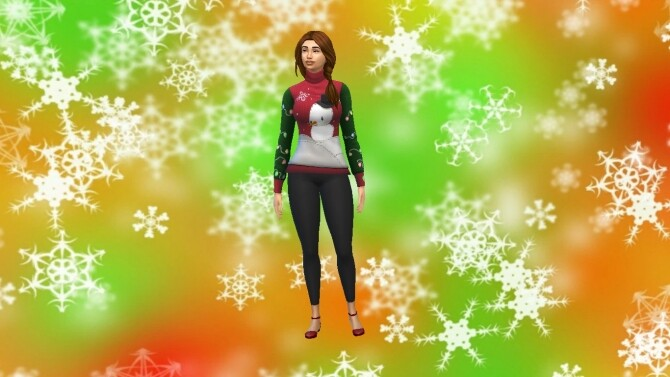 Sims 4 Reggae Christmas BG by XxThickySimsxX at Mod The Sims