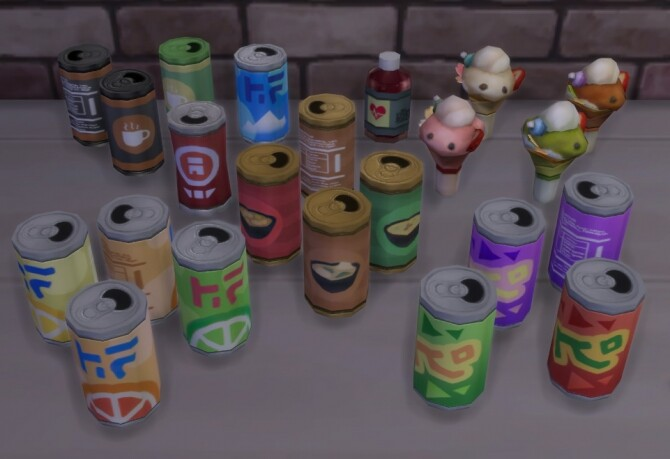 Sims 4 A.I. Upscaled Food by Cowplants Cake at Mod The Sims