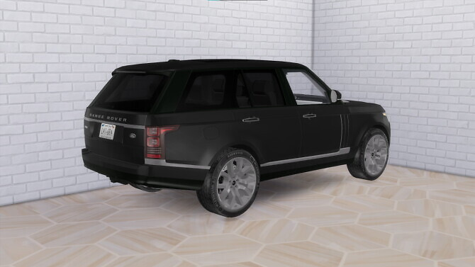 Sims 4 2016 Land Rover Range Rover Sport at Modern Crafter CC