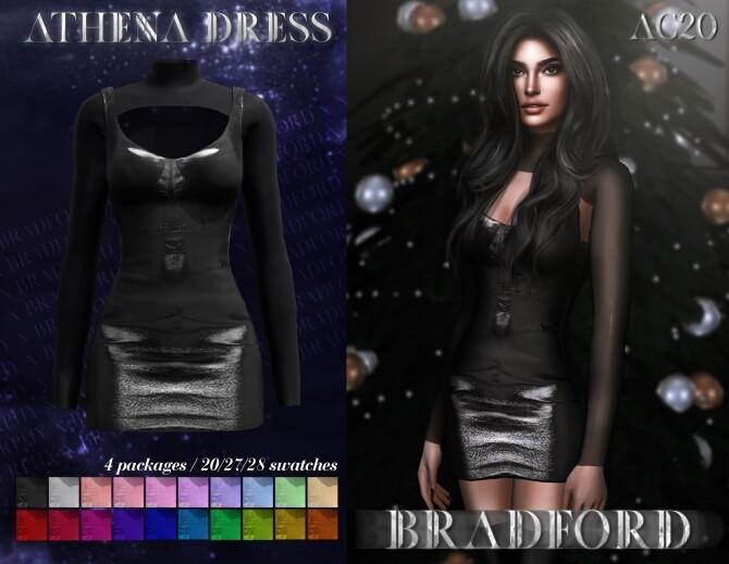 Sims 4 Athena Dress at MURPHY