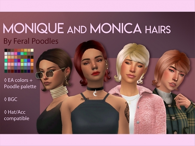 Monica Hair by feralpoodles