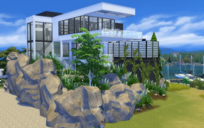 Sims 4 The Overlook villa by alexiasi at Mod The Sims