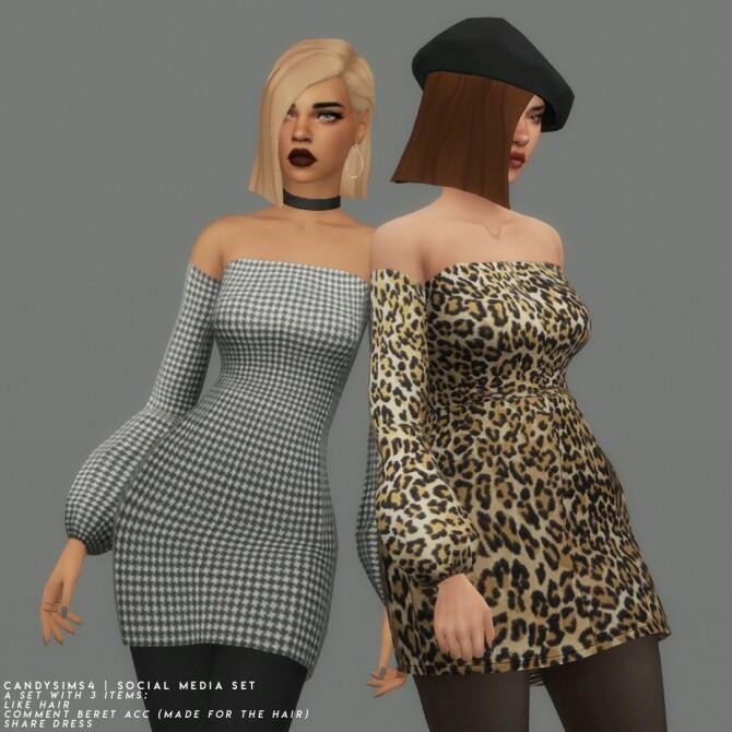Sims 4 SOCIAL MEDIA SET at Candy Sims 4