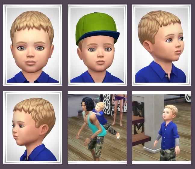 Sims 4 Casar Toddler Hair at Birksches Sims Blog