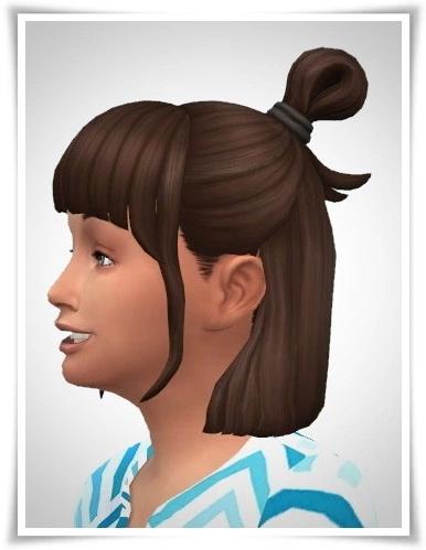 Sims 4 Luiza Kids Hair at Birksches Sims Blog
