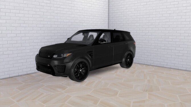 Sims 4 2016 Land Rover Range Rover Sport SVR at Modern Crafter CC