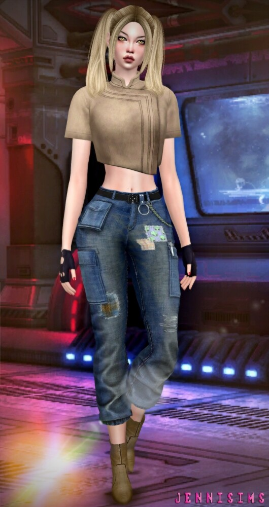 Sims 4 BASE GAME COMPATIBLE Top Scifi at Jenni Sims