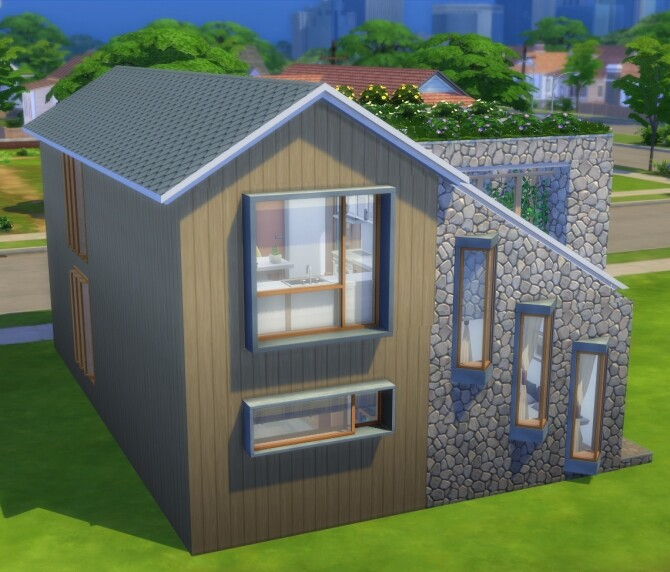 Sims 4 Venus Revisited 2BR/1BA home for entertainers by lolakret at Mod The Sims