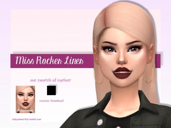 Sims 4 Miss Rocker Liner by LadySimmer94 at TSR