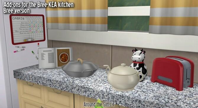 Bree-KEA kitchen clutter add-on