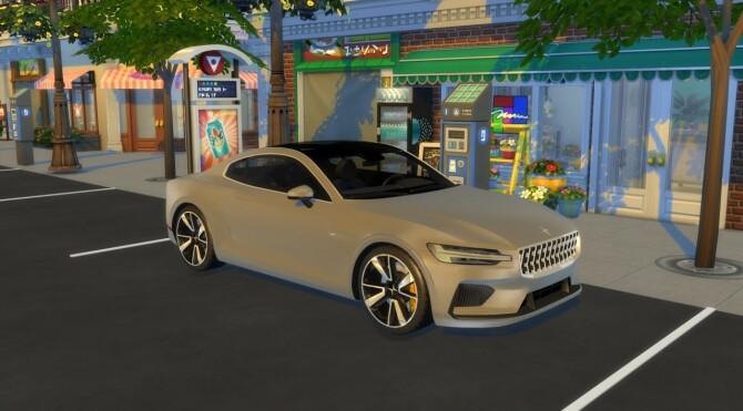 Sims 4 Polestar 1 at LorySims