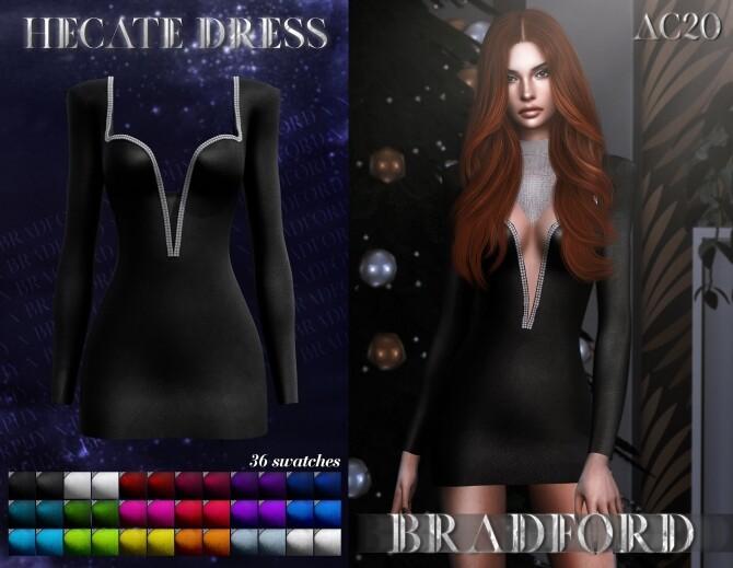 Sims 4 Hecate Dress at MURPHY