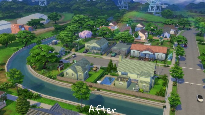 Sims 4 Remove Eco Lifestyle Sunray due to Green Footprint by CommodoreLezmo at Mod The Sims