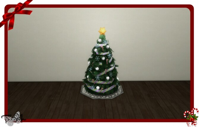 Sims 4 Christmas tree seasons recolor by therran91 at Mod The Sims
