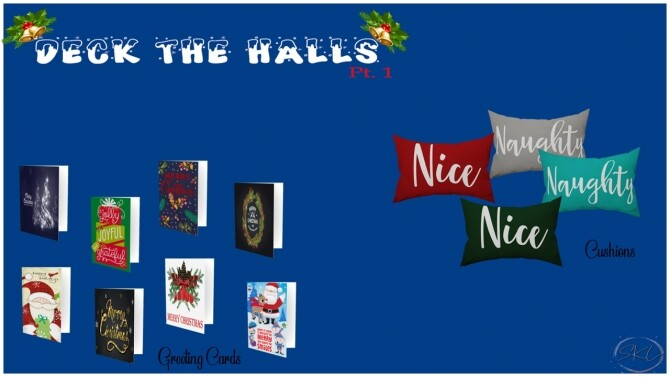 Sims 4 Deck The Halls Collection Pt 1 at Sunkissedlilacs