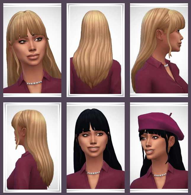 Sims 4 Wilma Hair at Birksches Sims Blog