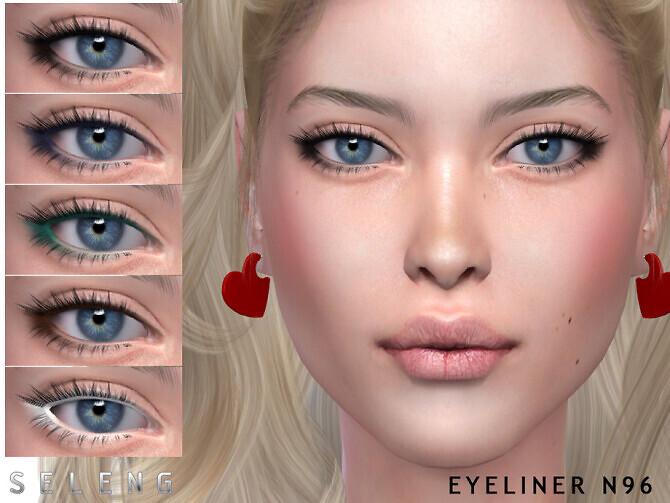 Sims 4 Eyeliner N96 by Seleng at TSR