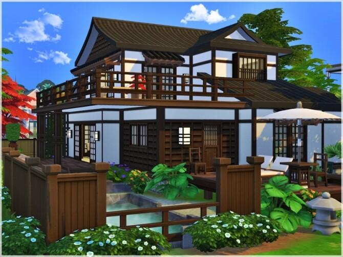 Sims 4 242 Wakabamori house by Ray Sims at TSR