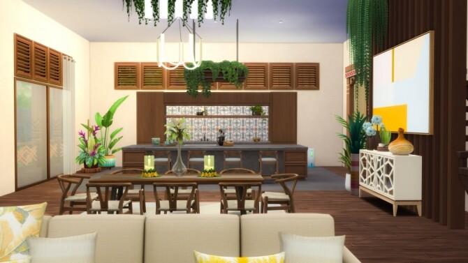 Sims 4 Saphire Villa at SimKat Builds