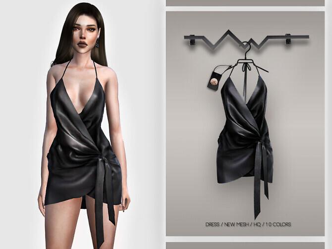 Sims 4 Dress BD394 by busra tr at TSR