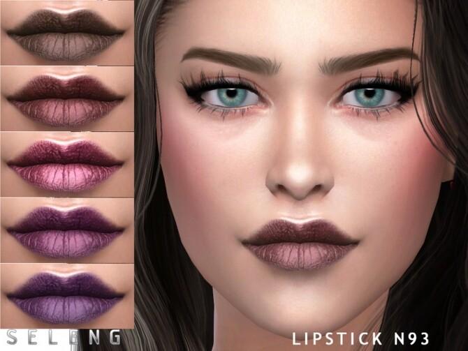 Sims 4 Lipstick N93 by Seleng at TSR