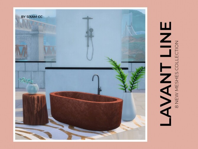Sims 4 Lavant Line by ImFromSixam at TSR