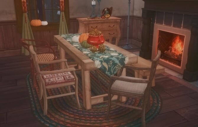 Autumn Dining set