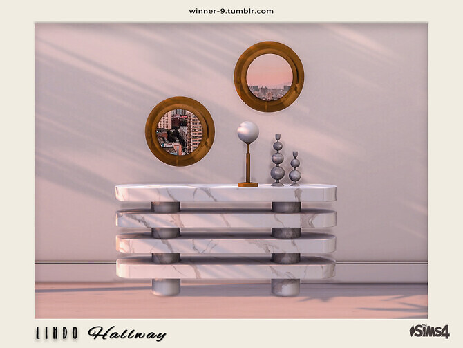 Sims 4 Lindo Hallway by Winner9 at TSR
