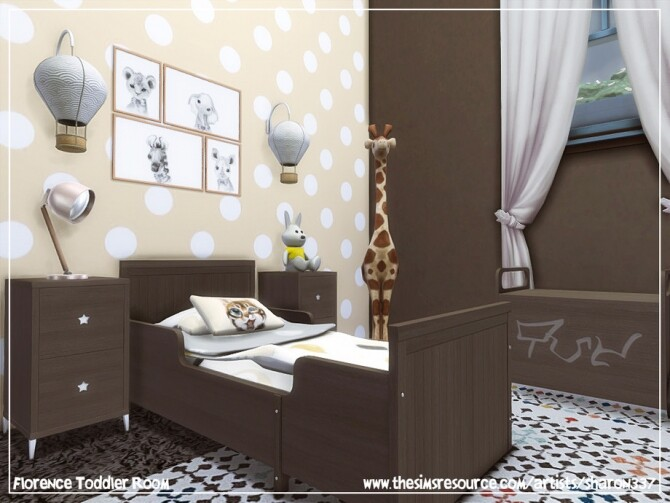 Sims 4 Florence Toddler Room by sharon337 at TSR