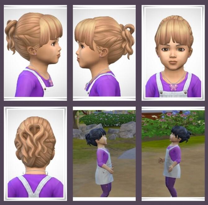 Sims 4 Mitsue Toddler Hair at Birksches Sims Blog
