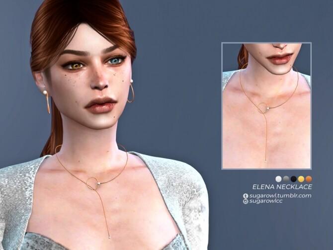 Elena necklace by sugar owl