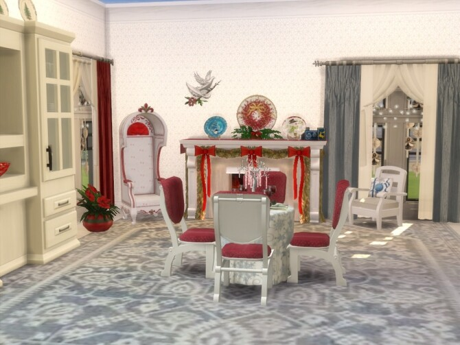 Sims 4 Home For The Holidays by seimar8 at TSR