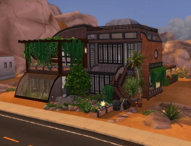 Sims 4 Eco House by MegaEmilicorne at L'UniverSims