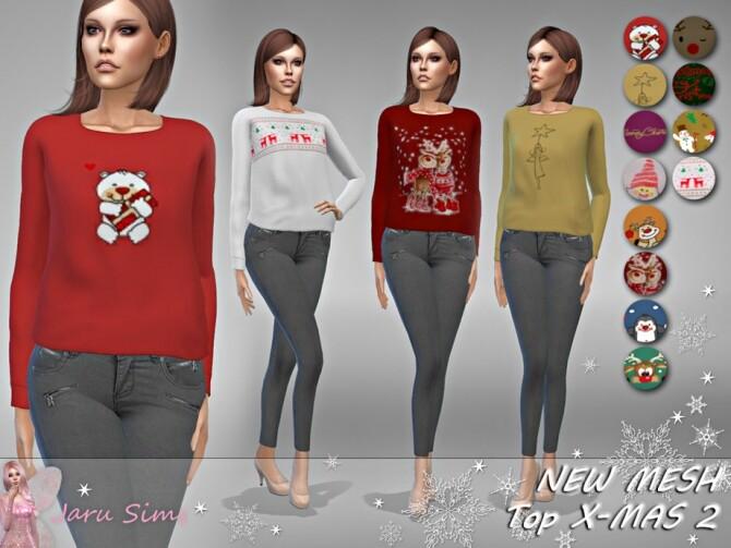 Sims 4 Top X MAS 2 by Jaru Sims at TSR