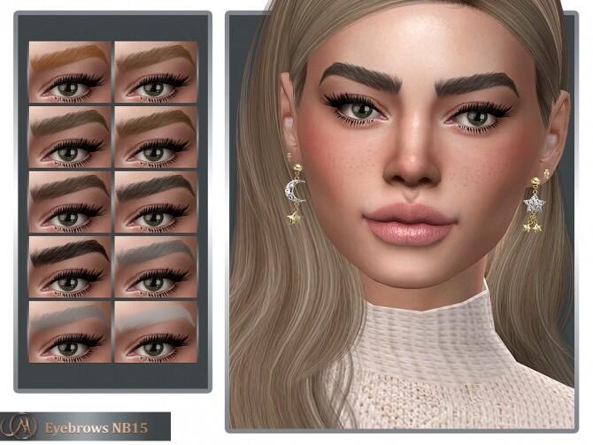 Sims 4 Eyebrows NB15 at MSQ Sims