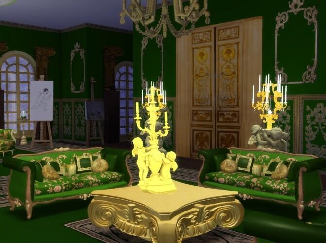 Sims 4 Magnus Sofa Family 2nd Model at Anna Quinn Stories