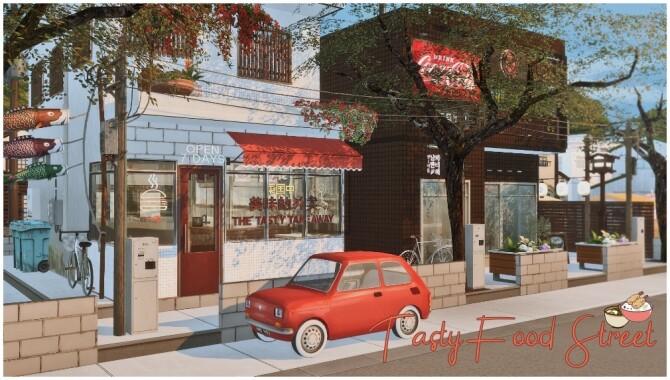 Tasty Food Street Restaurant