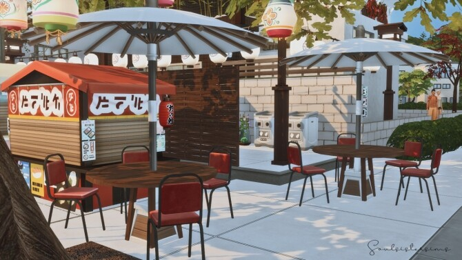 Tasty Food Street Restaurant at SoulSisterSims image 235 670x377 Sims 4 Updates