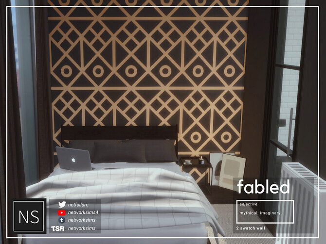 Sims 4 Fabled Wallpaper by Networksims at TSR